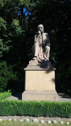 Socha Bedřicha Smetany.
