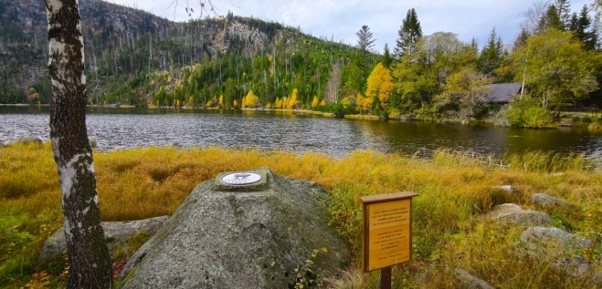 Plesné jezero.