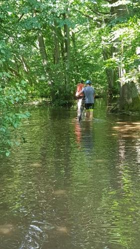 Zaplavená stezka.
