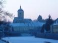 Strakonický hrad v zimě