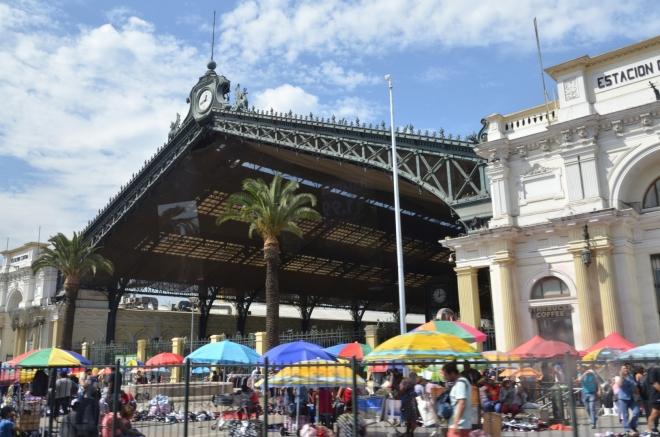 Estación Central a přilehlé trhy
