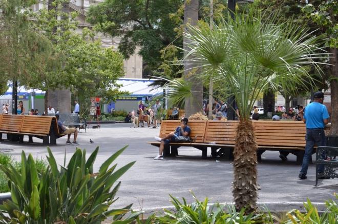 Centrální náměstí (Plaza de Armas)