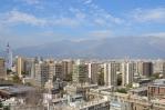 Výhled z Cerro Santa Lucía, Santiago