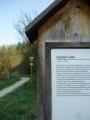 Cyklostezka a část tabulky o Kněží hoře