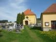 Velice známý pohled na kostel