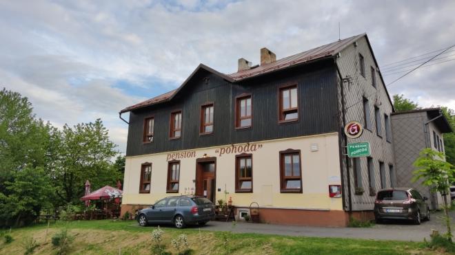 Penzion Pohoda býval kdysi školou.