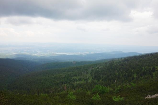 Polské roviny Jelenie Gory.