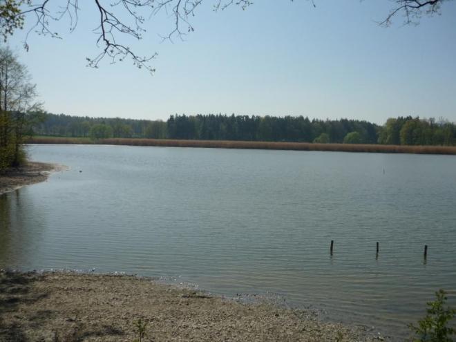 Jeden z rybníků podruhé