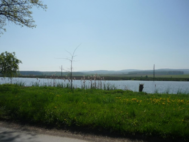 Rybníček v Sudoměři