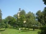 Zalesněný kostel
