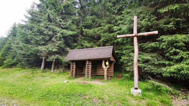 Kristovo loučení leží u sedla Orlíku.