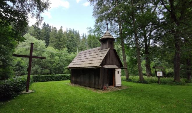 Schnaubelova kaple v Mnichově u Vrbna...