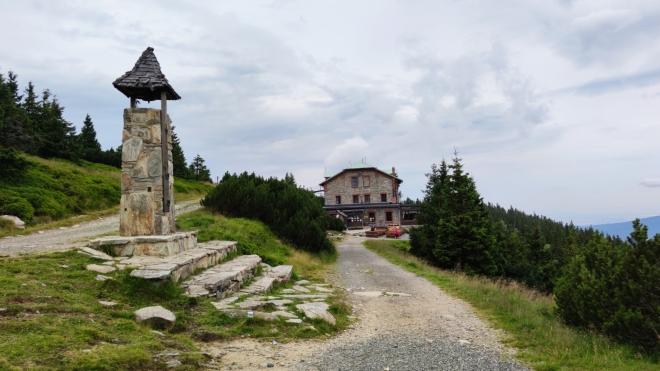 Horská chata Šerák.