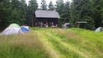 Durasova chata na vrchu Troják.