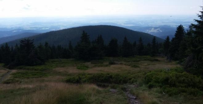 Hora Temná (1 263 m n. m.).
