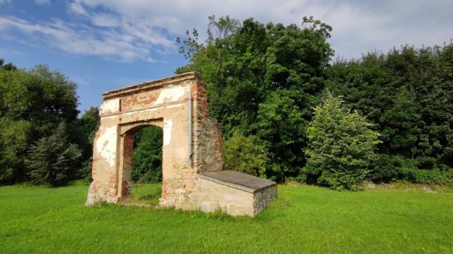 Brána u Vojtovického potoka.