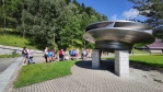UFO často navštěvuje právě elektrárny, ale tohle je rotor Francisovy reverzní turbíny.