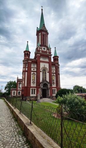 Vítá mne Vidnava, milé překvapení na cestě kolem polsko - českých hranic...