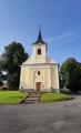 Kostel v Hlavňovicích.