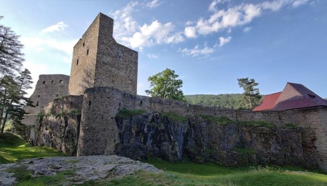 Velhartický hrad jsme nemohli vynechat...