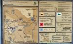 Mapka cest Bavorským lesem.