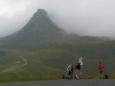 První na cestě na nás vykoukl z mraků jen na chvíli a tak jsem toho bleskurychle využil.