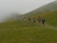 Naše skupinka jde do mlhy...
