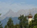 V pozadí montafonský Matterhorn Zimba