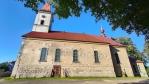 Kostel sv. Jana Křtitele v Polubném.