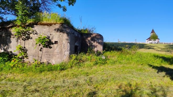 Řopík a Tesařovská kaple.