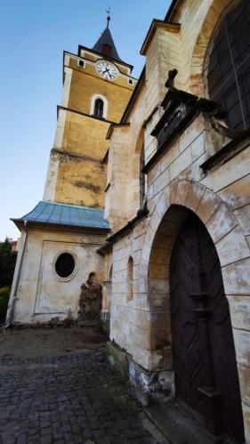 Kostel Nalezení svatého Kříže.