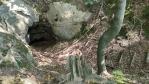 Jeskyně pod Novou cestou.