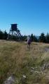 Na vrcholu Mrtvý vrch (1059 m n. m.).