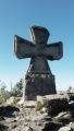 Ostudný Železný kříž u rozhledny Štěpanka.