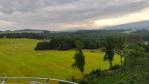 Pohled z rozhledny Jizerskym horám.