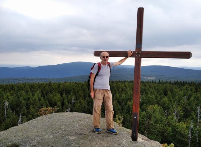 Na vrcholu Holubníku.