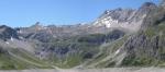 Hory tyčící se nad Lünersee, mezi nimiž můžeme najít i Schesaplanu