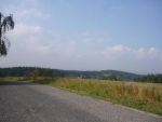 Pohled z Tažovického kopce (směr od Kraselova)