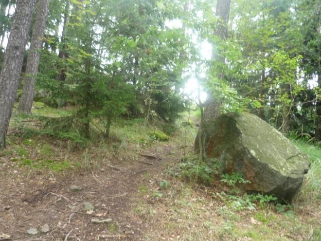První kámen