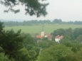 Pohled na kostel v Kraselově