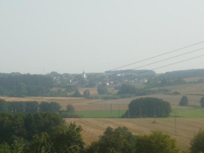Výhled na Radomyšl