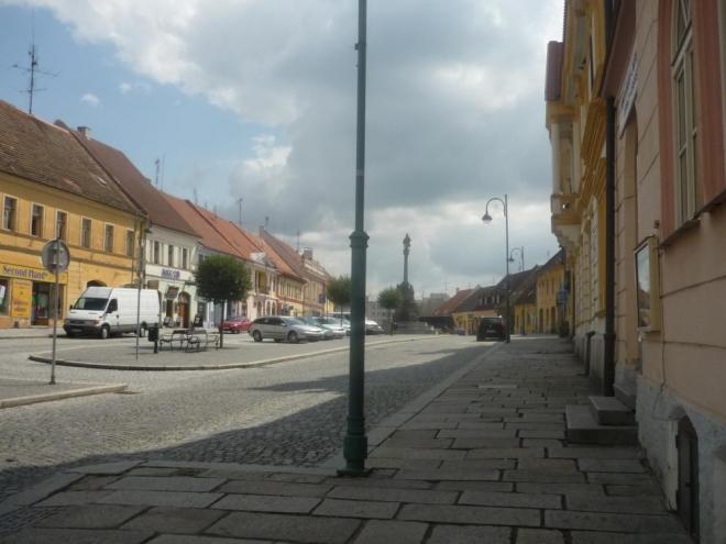 Jedna část náměstí