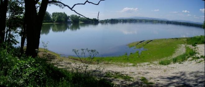U Pašic se rozlévá Volešek, velký rybník s krásným výhledem k Blanskému lesu a masívu Vysoké Běty.