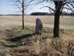 Legenda praví, že sťatou hlavu vzala voda Soudného potoka a dnes v místech stětí a nálezu hlavy jsou dva velké kameny. Klostermannovo román Mlhy na Blatech o tomto poutavě vypovídá.