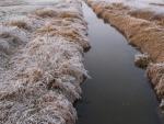 Dnes je již potok regulovaný a jeho původní tok lze trochu vnímat z leteckých fotek na www.Mapy.cz.