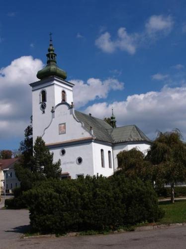 Kostel ve Volarech...