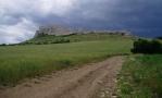 Ráno je dosti kalné a tak raději jedeme ke Spišskému hradu. Ten je opravdu mohutný, jak je vidět již z příchozí cesty.