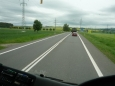 Cestou do Prahy (foceno z autobusu)