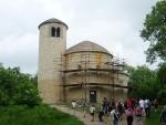 Rotunda (bohužel zrovna během oprav)