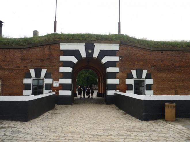 Hlavní brána do pevnosti